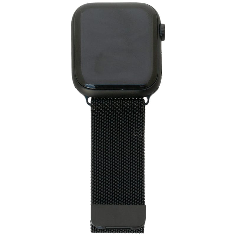 Zwart Apple Watch Band Milanese