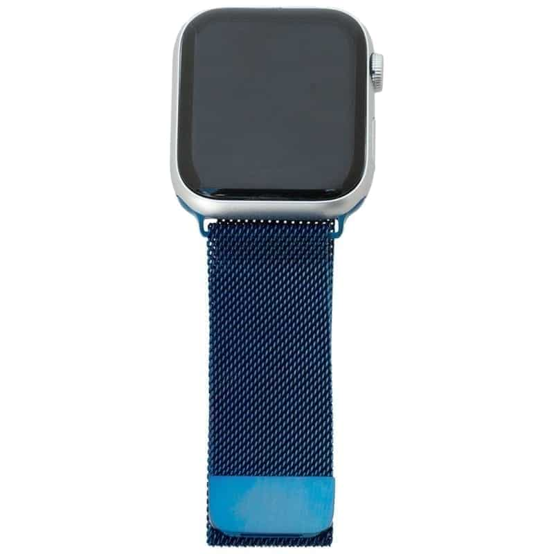 Blauw Apple Watch Band Milanese