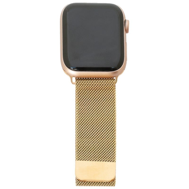 Klassiek goud Apple Watch Band Milanese