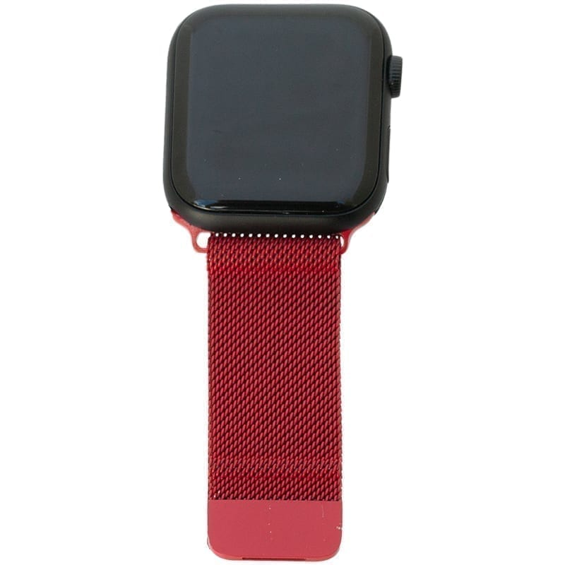 Rood Apple Watch Band Milanese