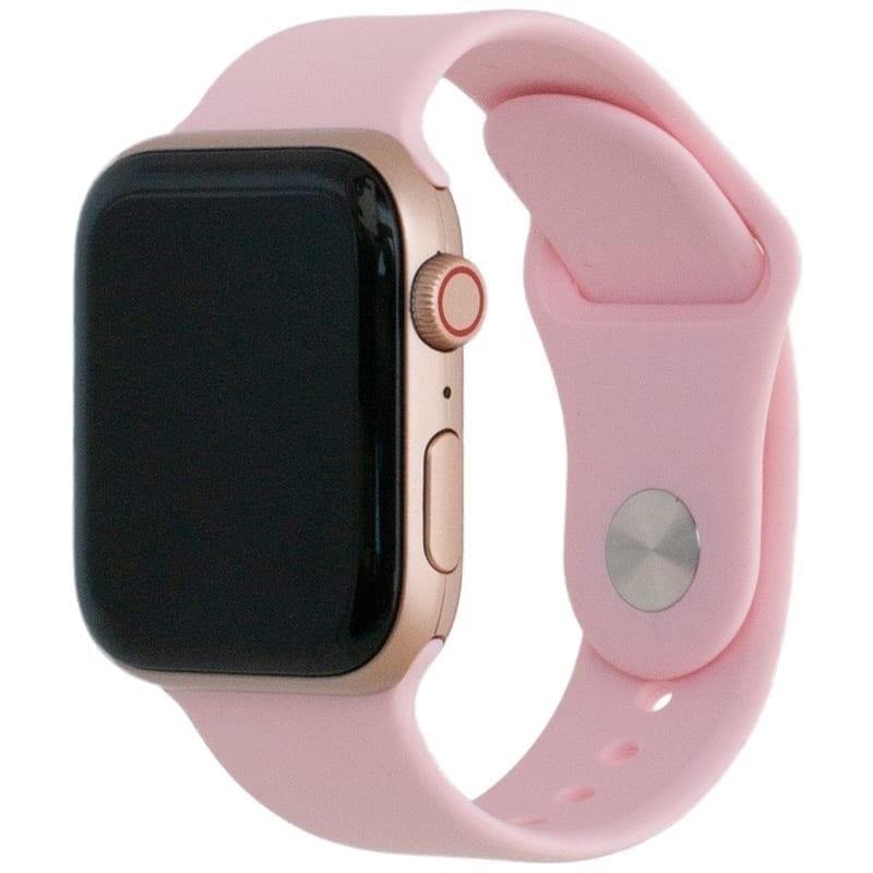 Voorzijde van de Apple Watch Band Frolic Sportband Roze