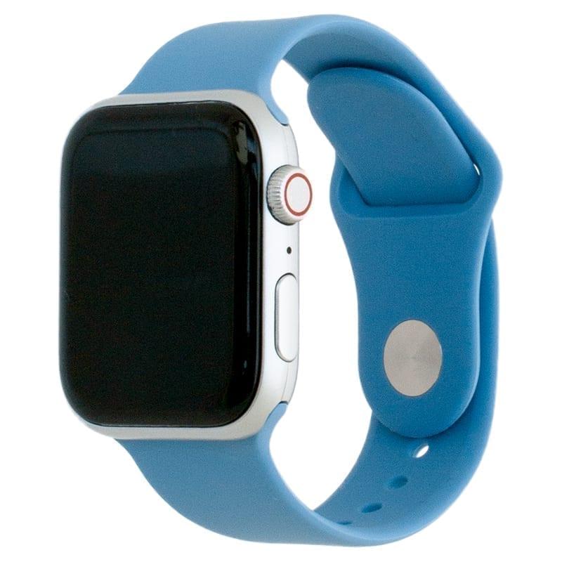 Voorzijde van de Apple Watch Band Frolic Sportband Hemelsblauw