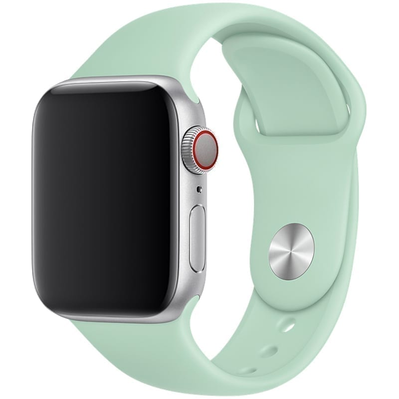 Vooraanzicht van Apple Watch Sport Band Frolic Beril