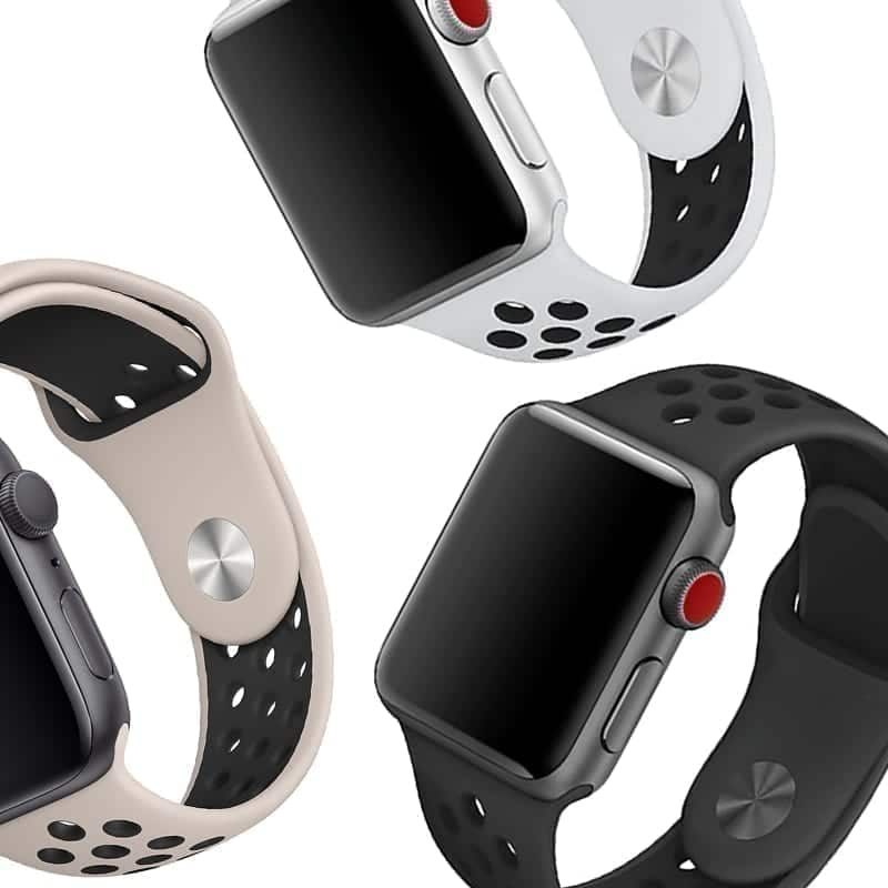 3 Apple Watch Sportbandjes Athletic