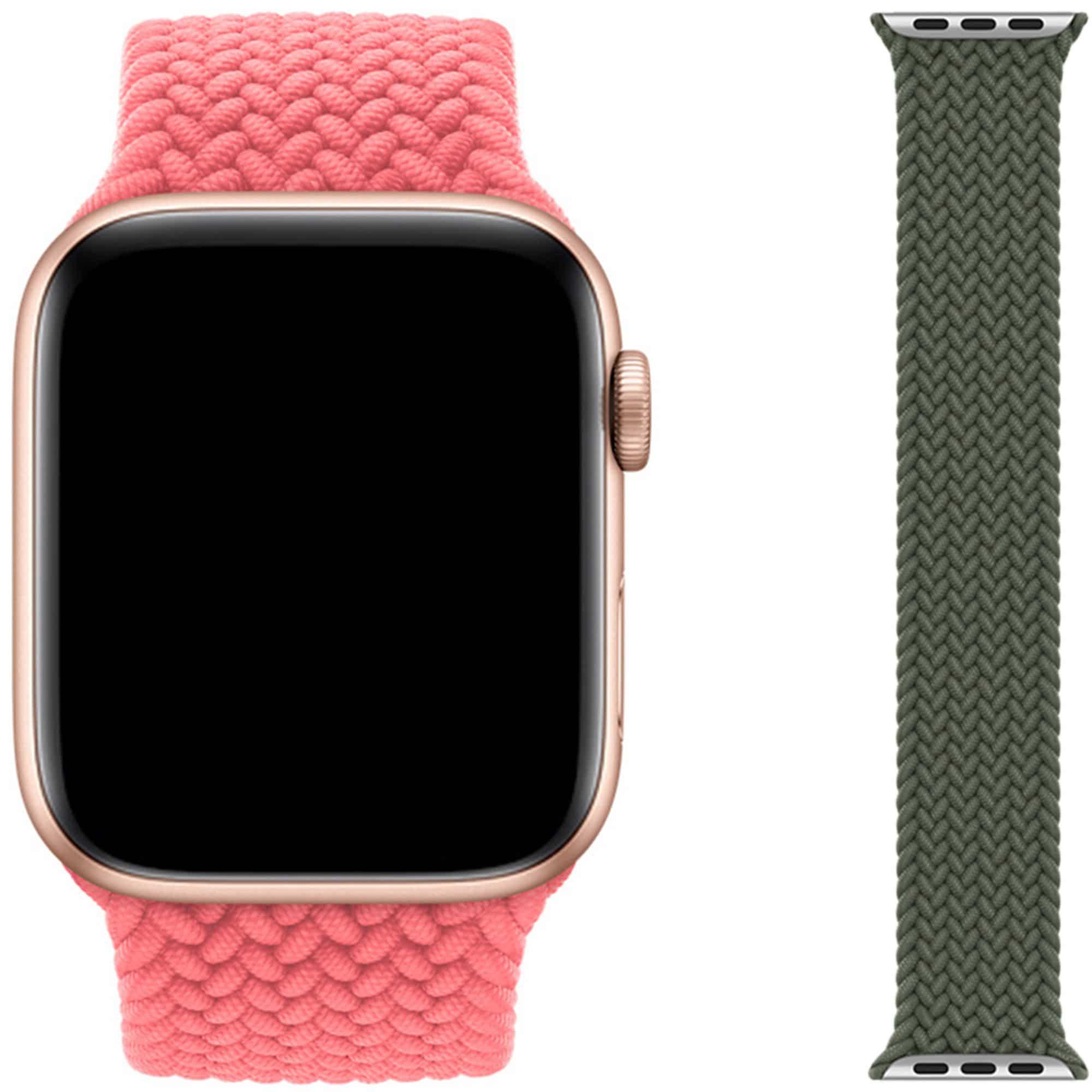 Gevlochten solobandjes voor de Apple Watch